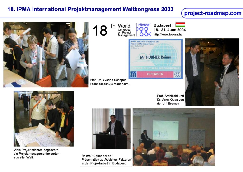18th IPMA World Congress Budapest Project Roadmap