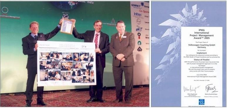 IMPLEMENT IPMA International Project Excellence Award Delhi