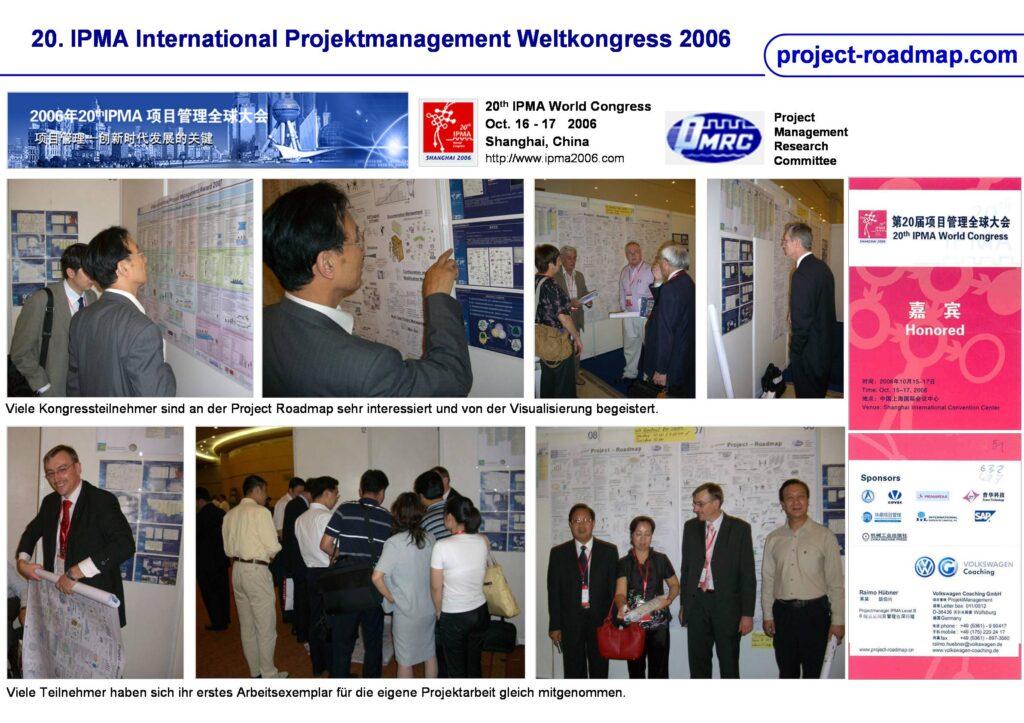 20th IPMA World Congress Shanghai Project Roadmap