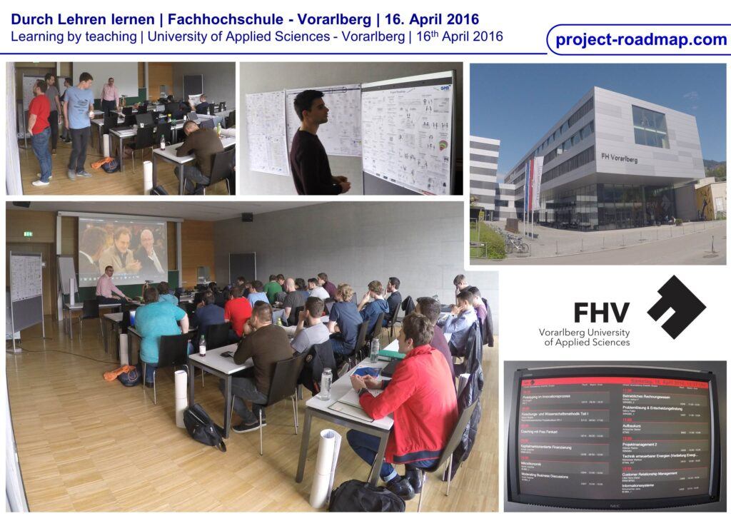 FH Vorarlberg University of applied sciences Project-Roadmap Raimo Hübner