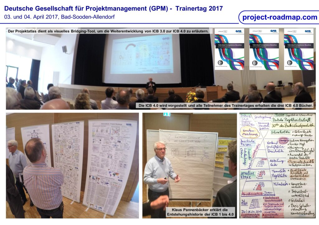 GPM-Trainertag ICB 4.0 Project Roadmap Projektatlas Raimo Hübner Klaus Pannenbäcker