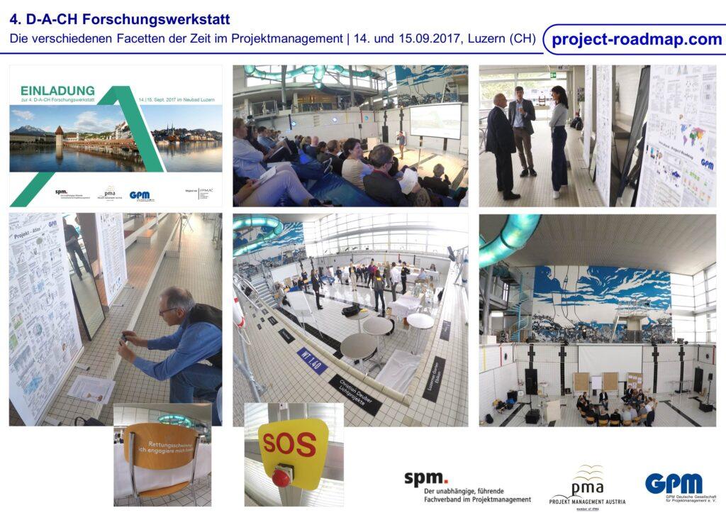 4th D-A-CH Forschungswerkstatt verschiedene Facetten der Zeit im Projektmanagement Lucern