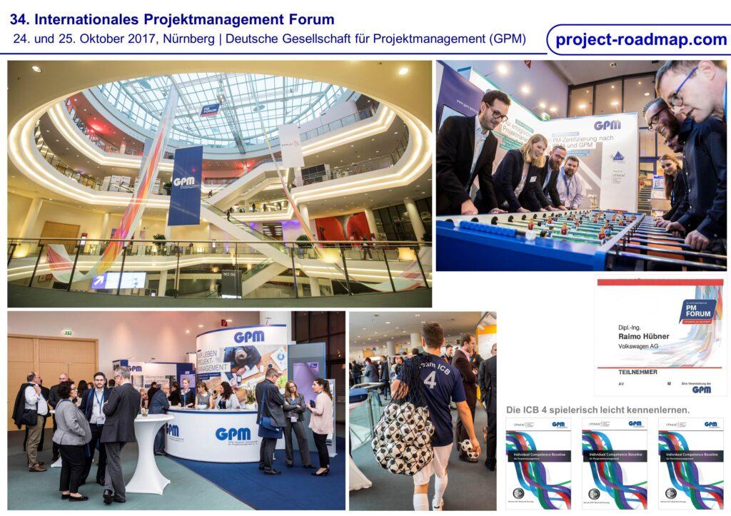 34. Internationales PM Forum GPM Nürnberg
